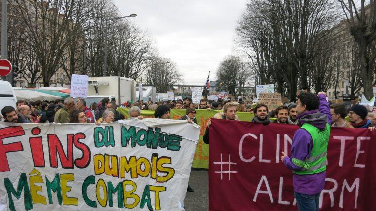 3ème marche pour le climat Lyon