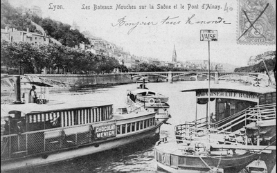 Prendre le Bateau-bus comme on prend le Bus ou le tramway, ça pourrait être possible à LYON !