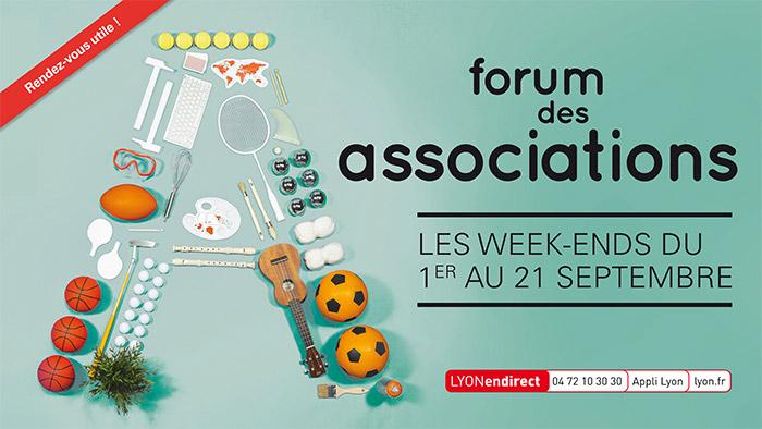 Forum des associations 2019 de Lyon 4ème et 1er