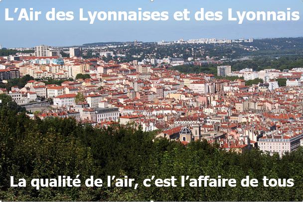 évolution de la qualité de l'air dans l'agglomération lyonnaise de 2011 à 2019